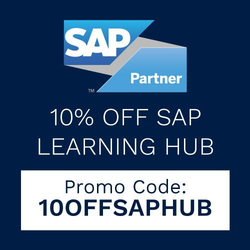 SAP 10 Off learning hub subscriptions