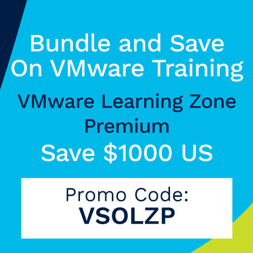 VMware Training - Receive VMware Premium Learning Zone
